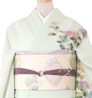 季節の着物「紫陽花」 京友禅 夏訪問着 No.012-1173-M着物レンタル365